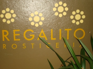 Entrance to Regalito